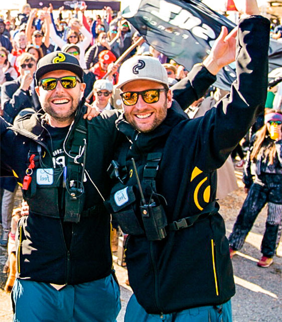 Maxime Schuler et Charlie Bellemin organisateur Super Slalom