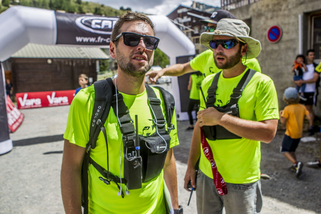 Maxime Schuler et Charlie Bellemin Vars Mountain Trail