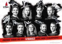 Affiche champion La Plagne
