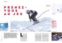 Article Presse Champion La Plagne