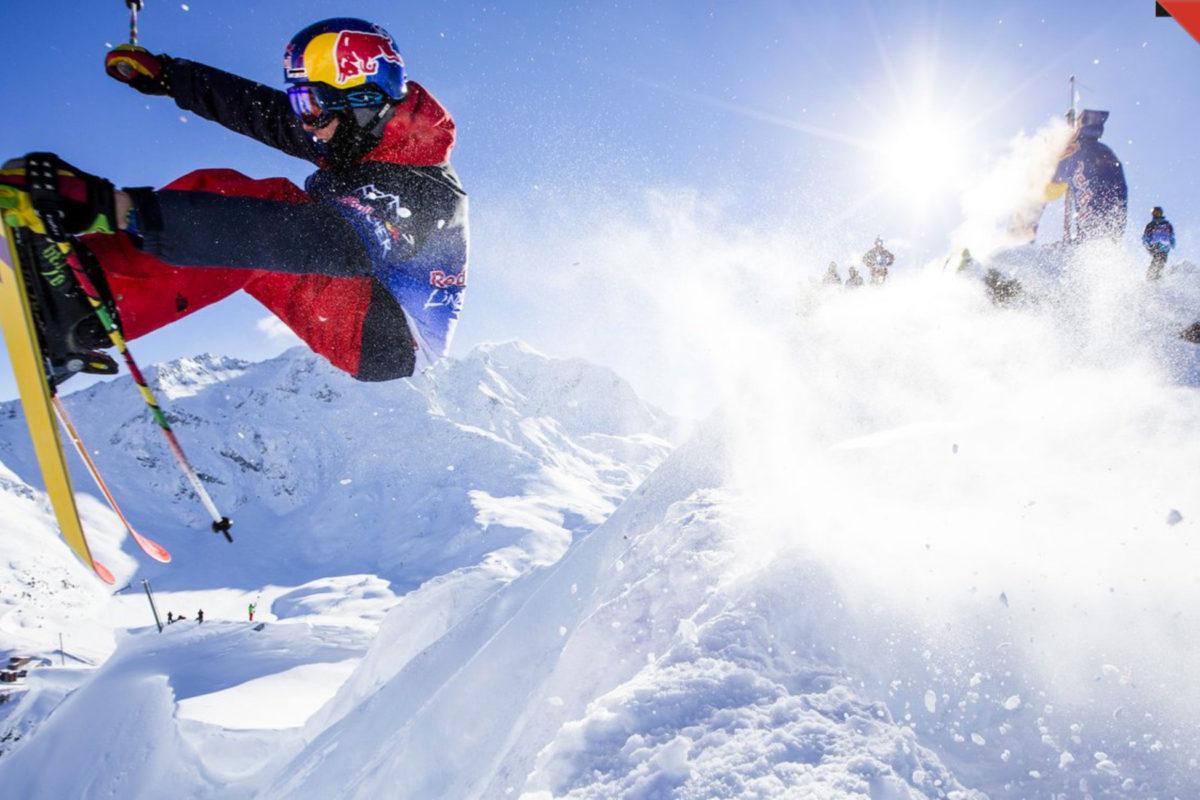 Saut à ski Redbull LineCatcher