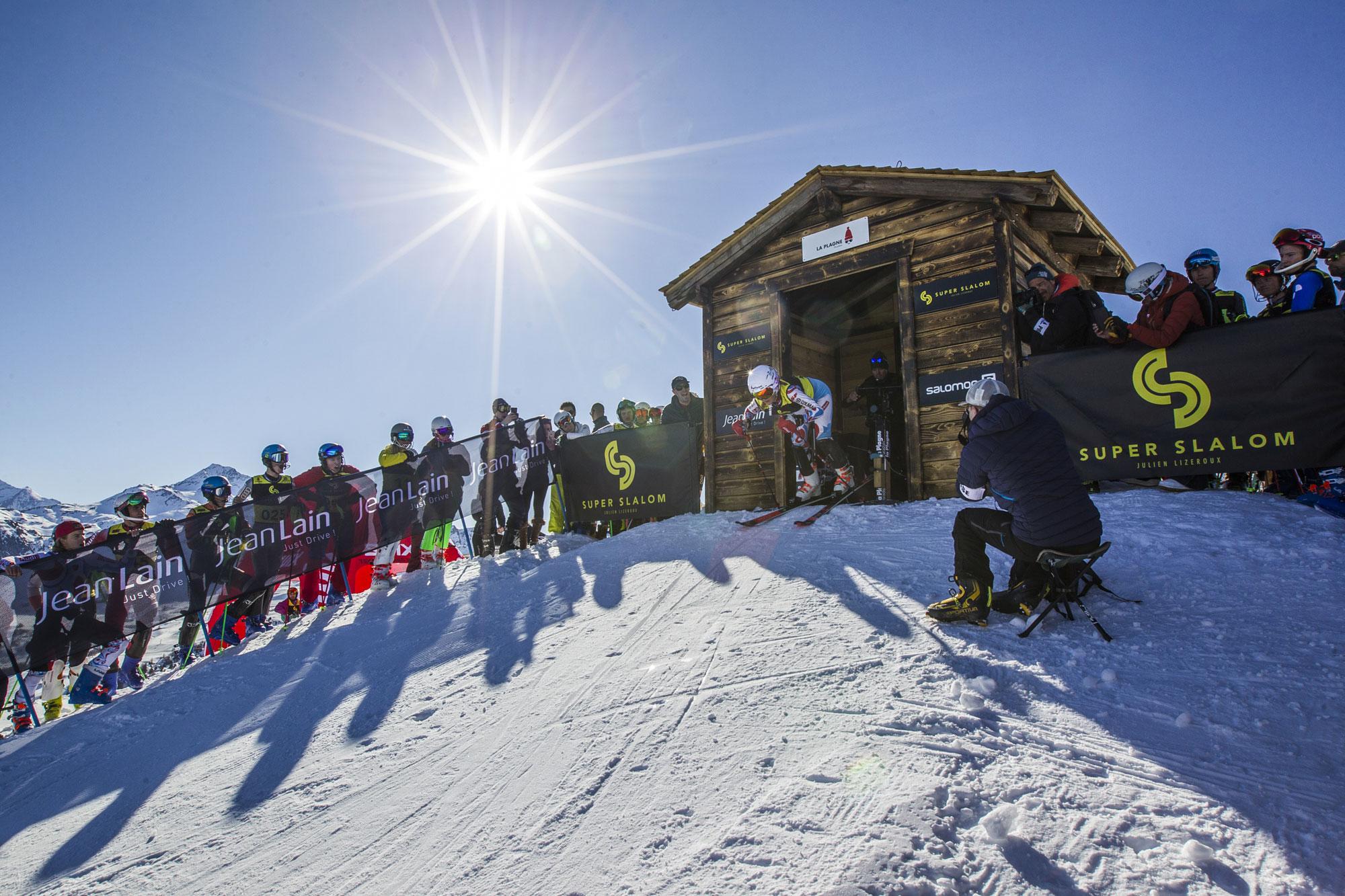 Départ Super Slalom